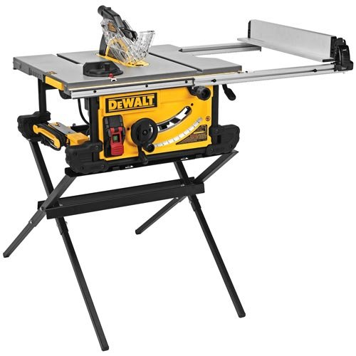 Dewalt dwe7490x review table saw central Portable table saw reviews