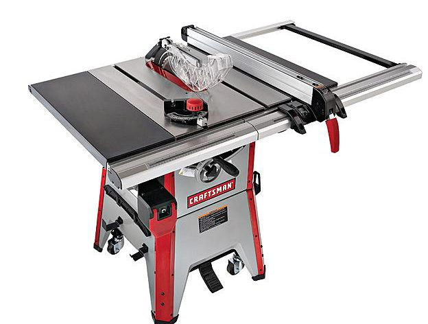 craftsman 10 inch contractor table saw review table saw