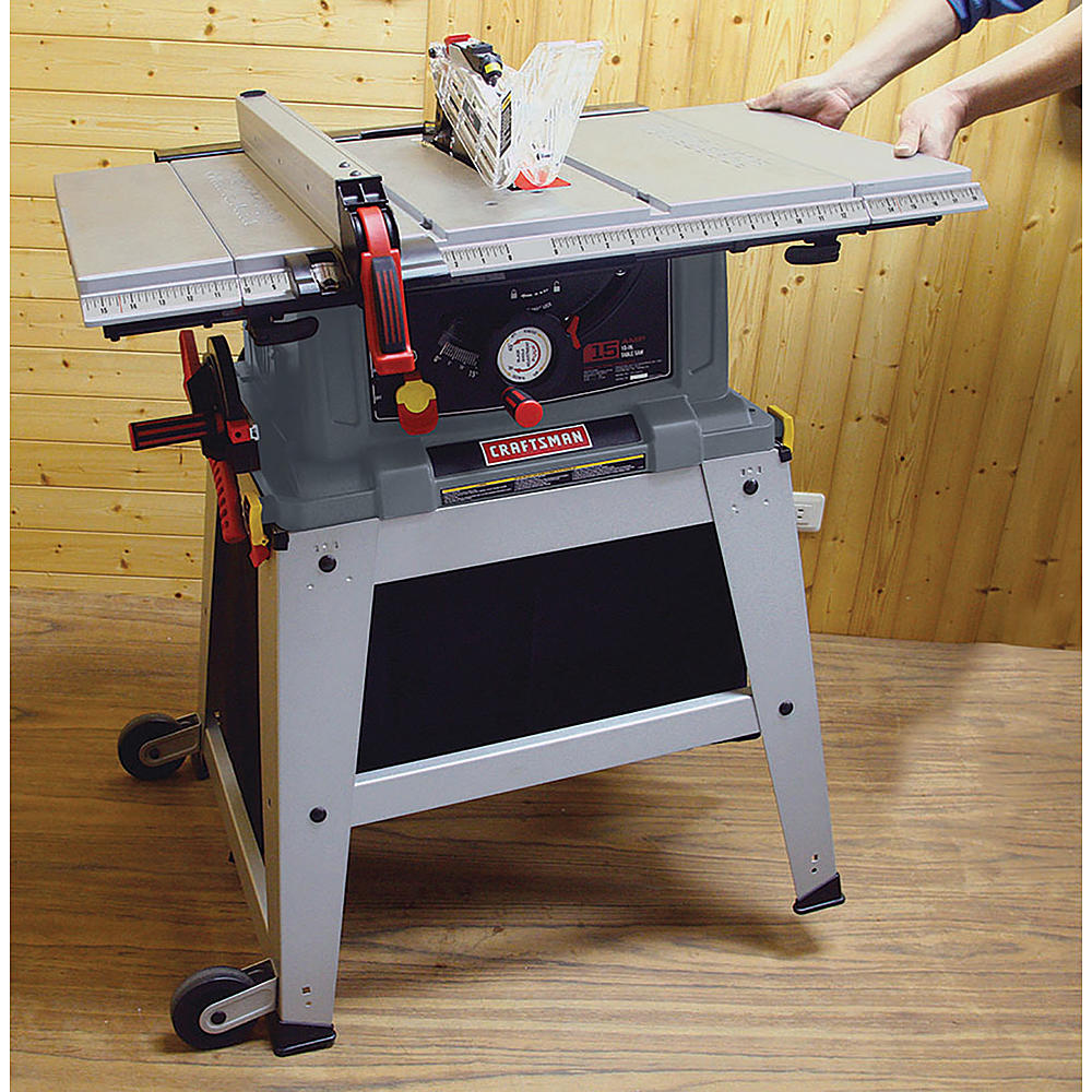 Craftsman 21807 portable table saw review table saw central for 10 dado blade for table saw