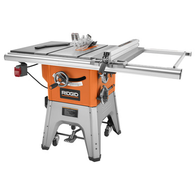 Ridgid 4512 review table saw central for 10 cast iron table saw
