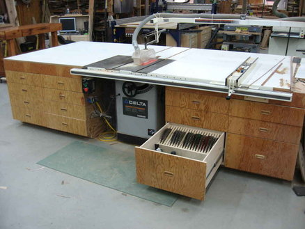 Amazing Table Saw Outfeed Tables Central