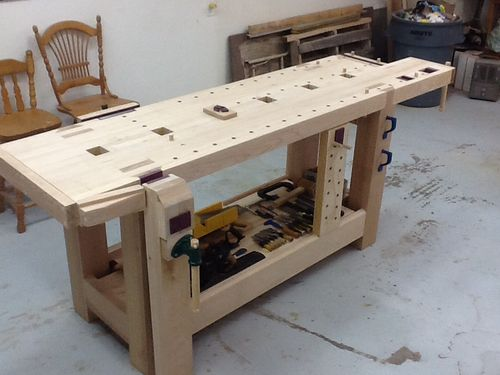 Workbenches That Look Too Good To Use Table Saw Central