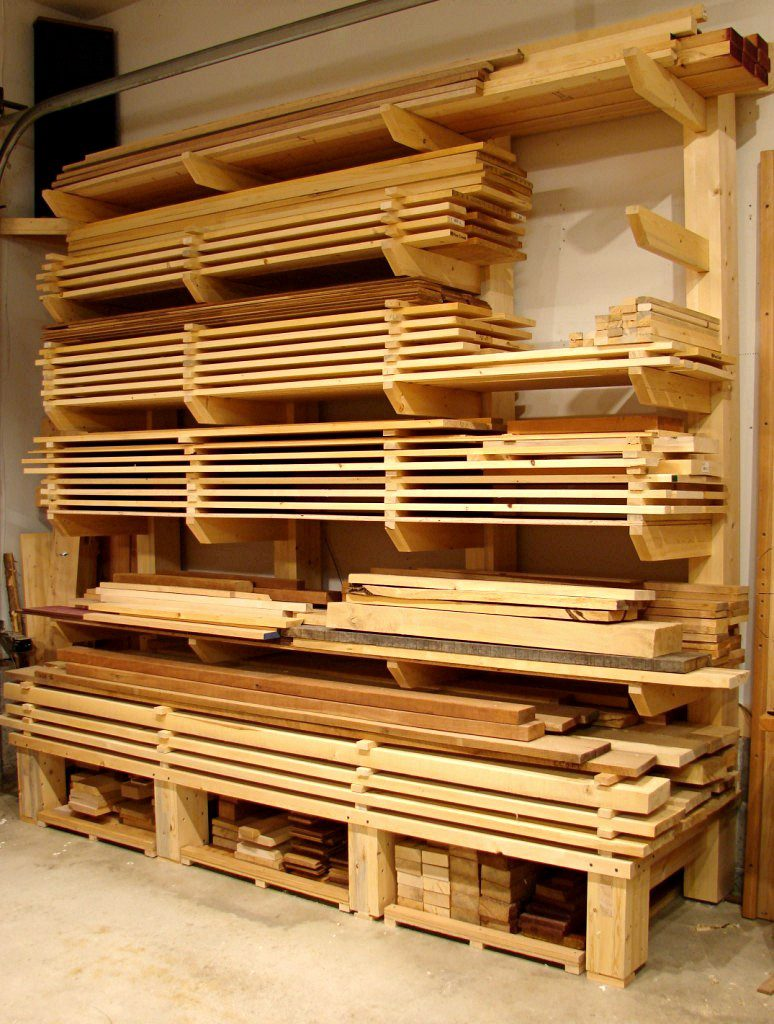 Awesome Timber Storage Solutions Table Saw Central