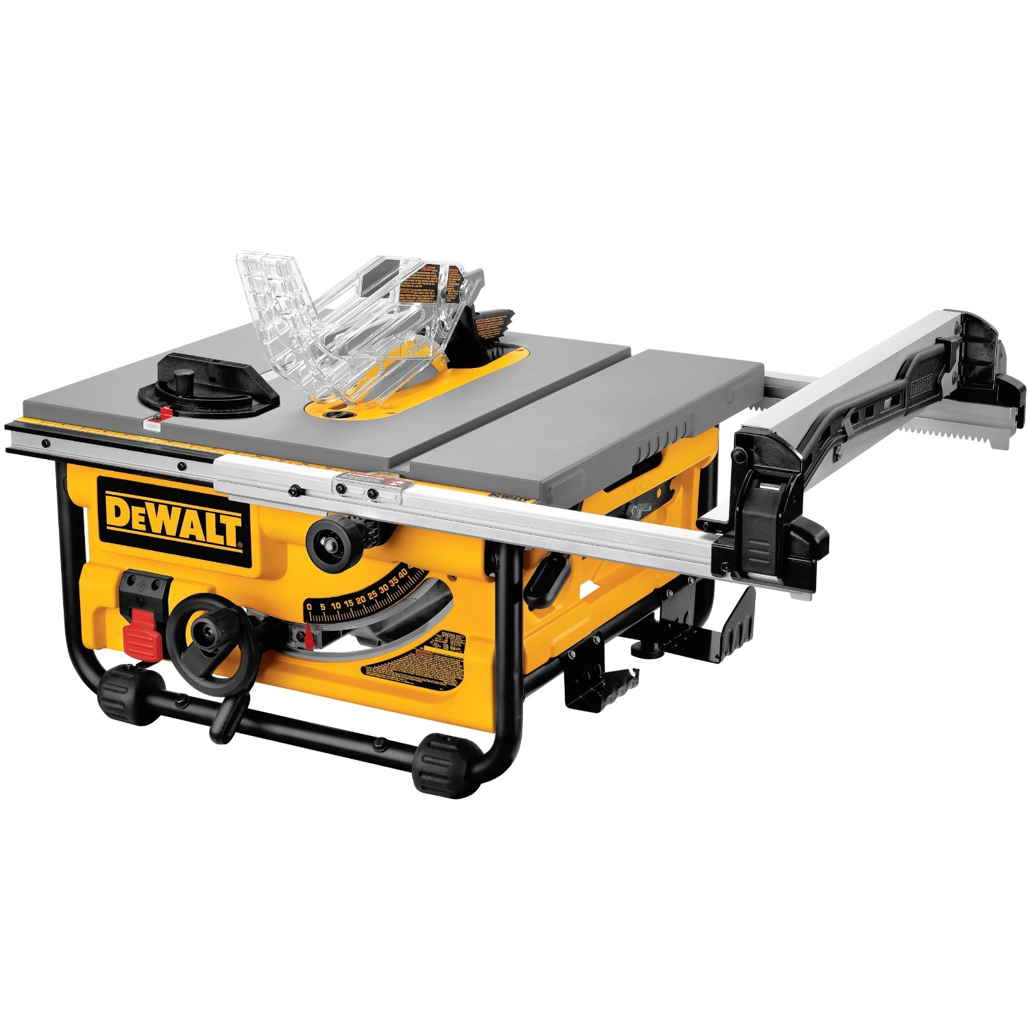 Dewalt dw745 review table saw central dewalt dw745 portable table saws greentooth Choice Image