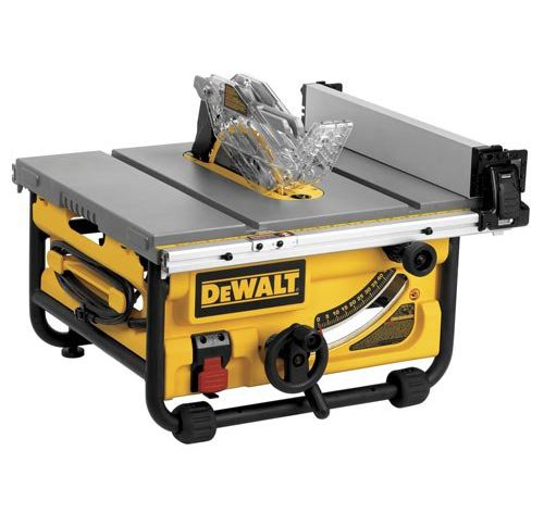 Dewalt dwe7480 review table saw central dewalt dwe7480 portable table saws greentooth Images