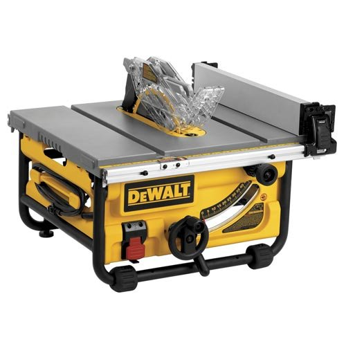 Dewalt dwe7480 review table saw central dewalt dwe7480 portable table saws greentooth Image collections