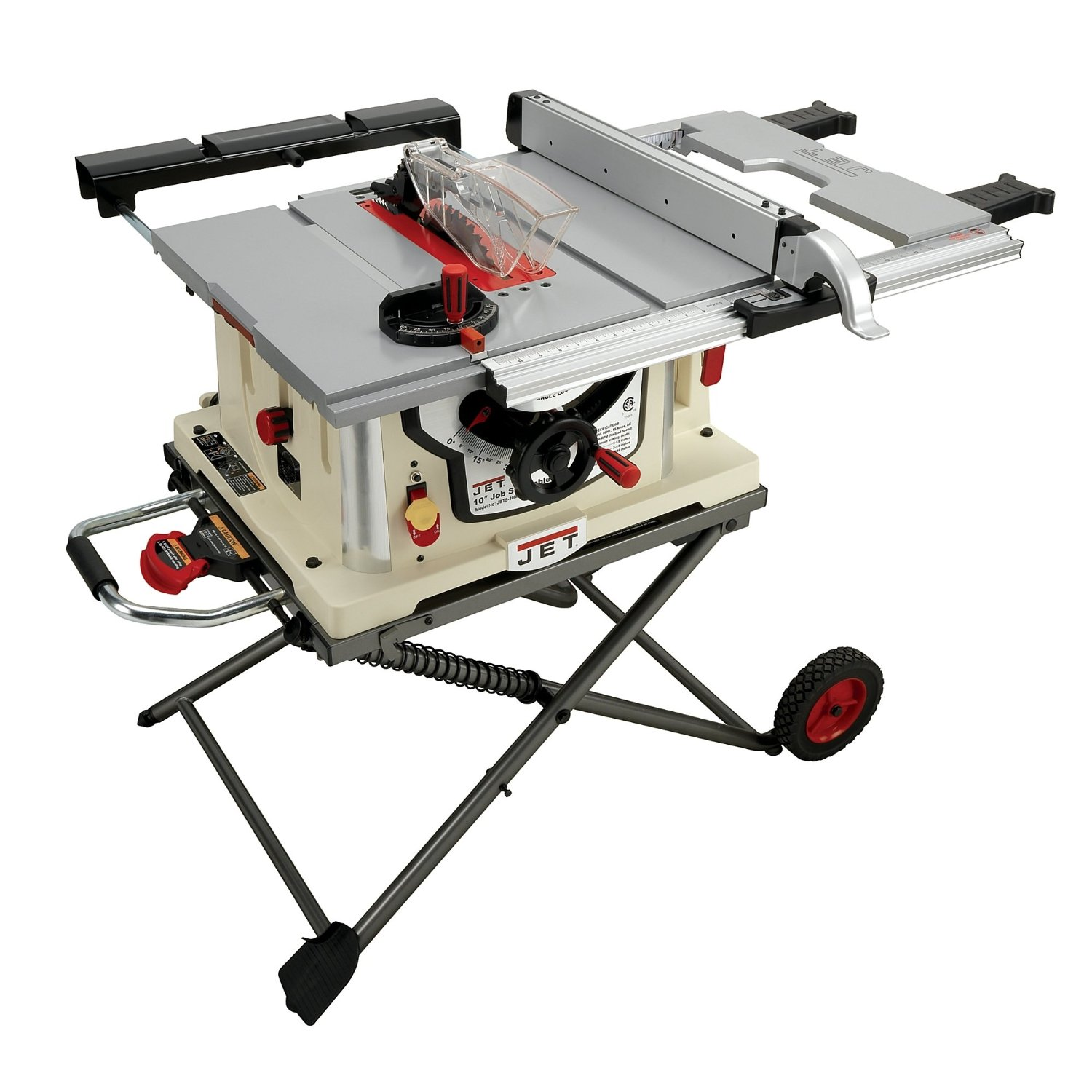 Jet jbts 10mjs review table saw central Portable table saw reviews