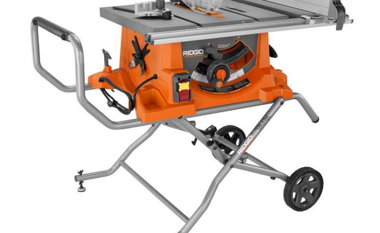Ridgid r4513 review table saw central for Table 09 reviews