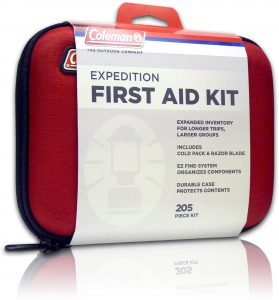 Coleman 205 Piece first aid kit