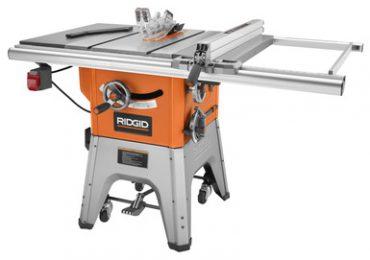 Ridgid 4512 Contractor Table Saw