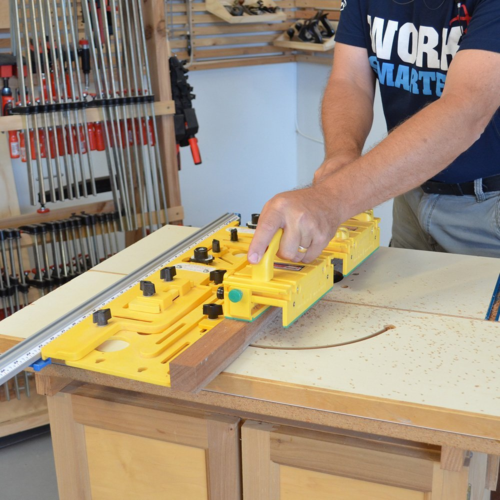 Microdial Tapering Jig Review Table Saw Central