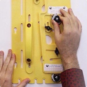 MICRODIAL Taper Jig Setting