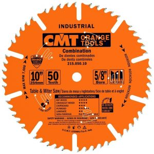 CMT 215.050.10 Combination Table Saw Blade