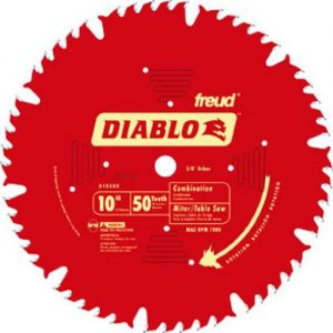 Freud D1050X Combination Table Saw Blade