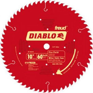 Freud D1060X 10-Inch 60 Tooth ATB Fine Finish Saw Blade